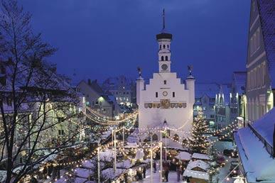 Schongau Weihnachtsmarkt.Weihnachtsmärkte Im Allgäu