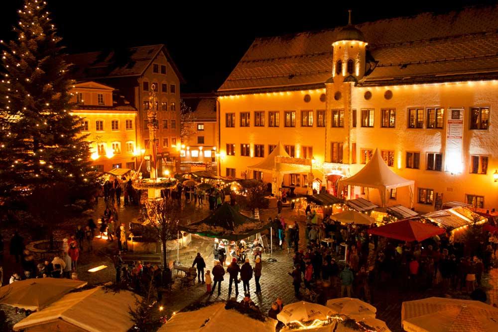 Marienplatz Weihnachtsmarkt.Weihnachtsmarkt In Immenstadt