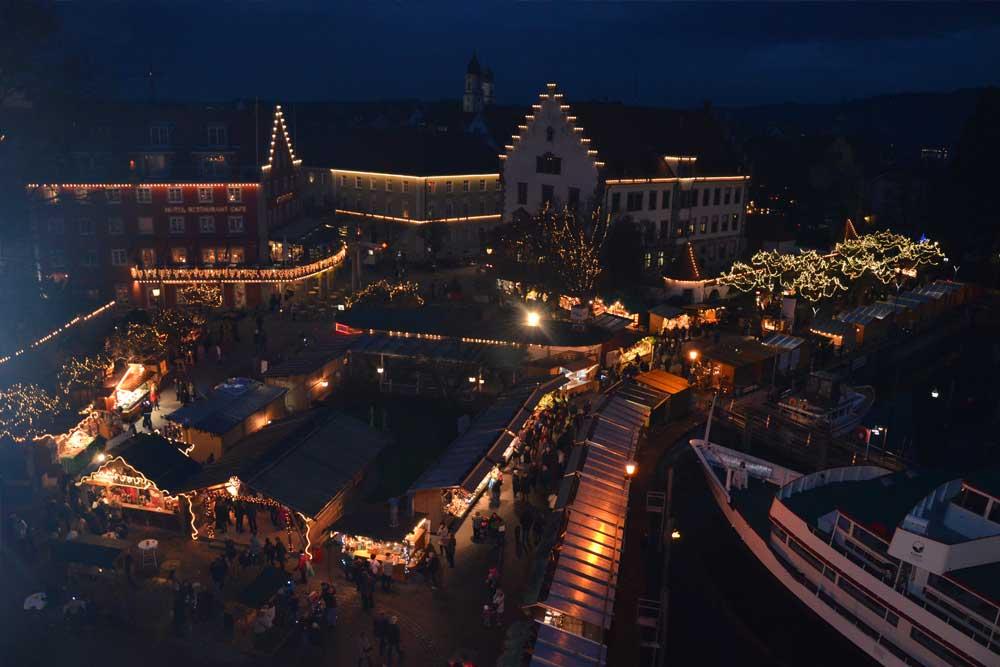 Lindau Weihnachtsmarkt.Weihnachtsmarkt In Lindau